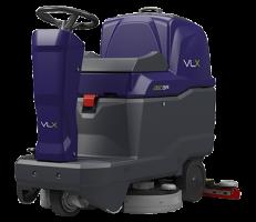 Tennant VLX 2180 SR 500mm Disc Brush Micro Ride On Batt Package