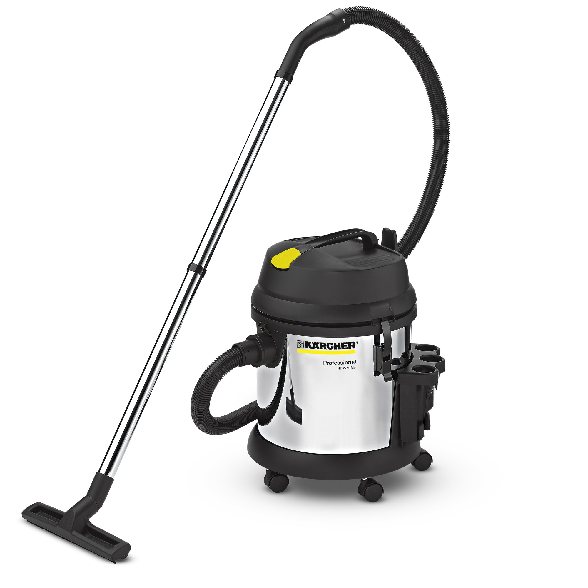 Karcher NT 27/1 Me Wet   Dry Vacuum Cleaner Stainless Steel Container