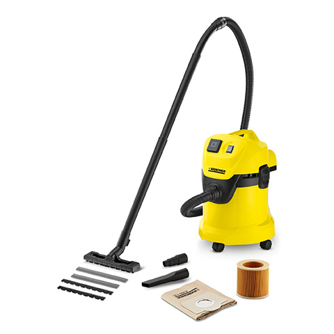 Karcher WD 3 P Wet   Dry Vacuum Cleaner