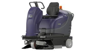 Tennant VLX 818 R Compact Ride On Sweeper